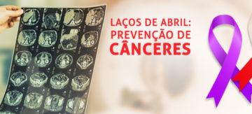 Câncer de cabeça e pescoço, câncer de esôfago e o câncer de testículo: Os Laços de Abril