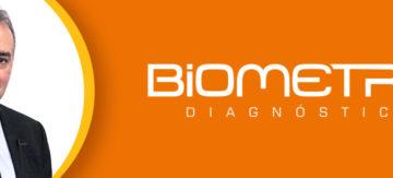 Mensagem da Biometrix Diagnóstica